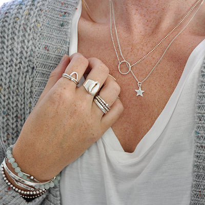 Ketting ster bedel