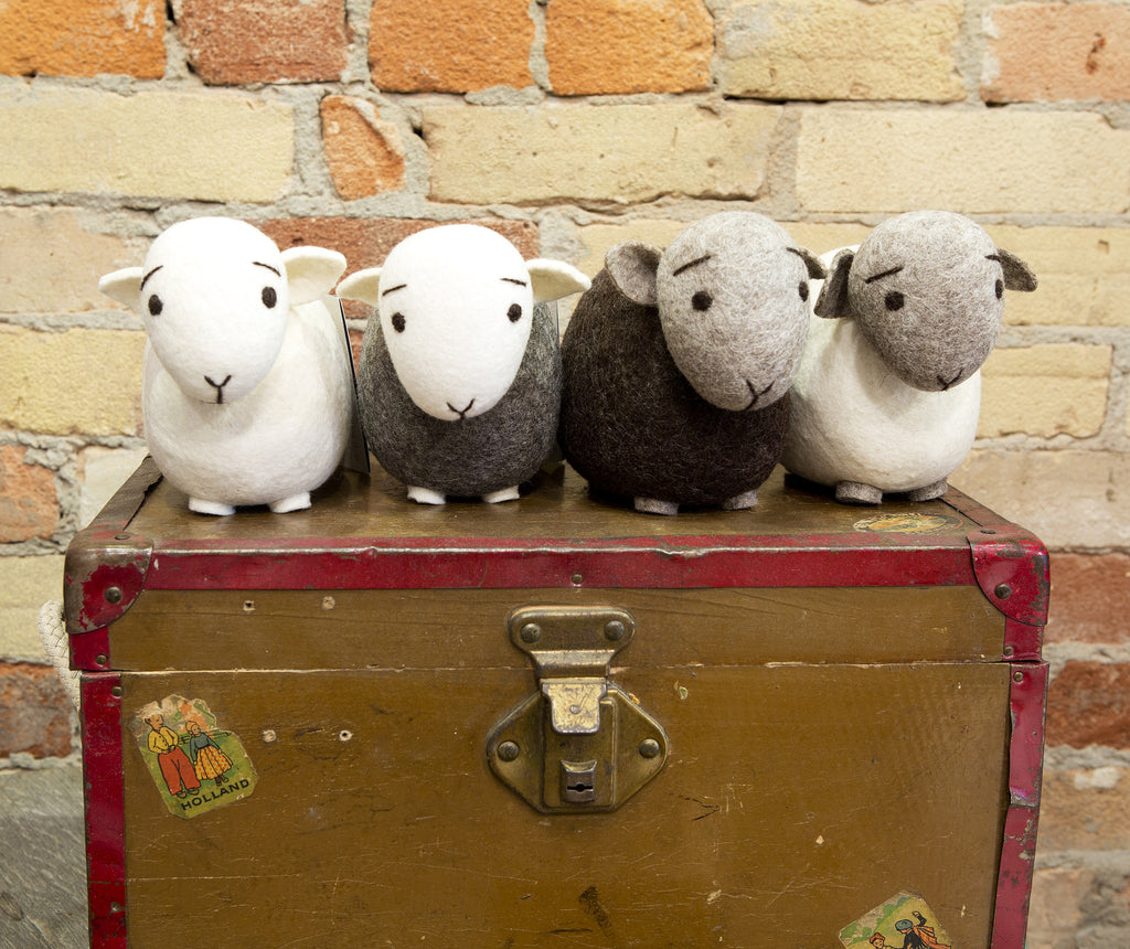 Wool Felt Sheep ... Made in Dublin