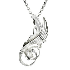 swan and wings from children of lir. Irish jewellery design