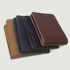 gents wallet. Irish design. soft leather accessories