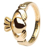 Ladies Irish Claddagh Ring - Gold