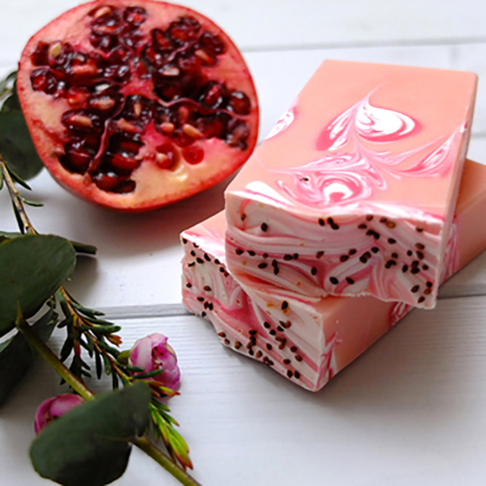 Pomegranate Handmade Artisan Soap