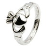 traditional Irish claddagh ring sterling silver