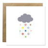 Greeting Card - Rain Kisses And Hugs