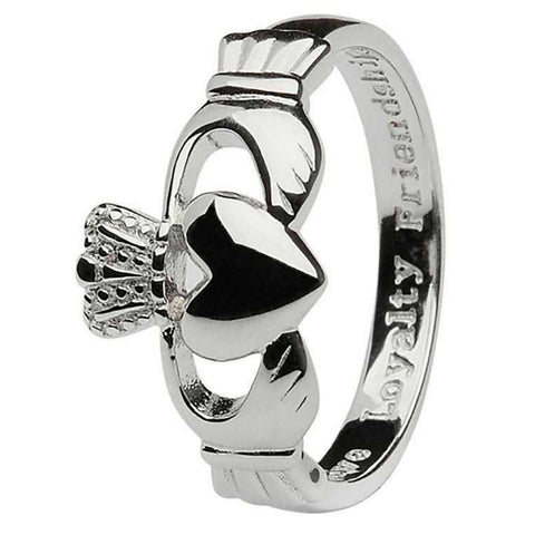 Gent's Claddagh Ring - Men's Irish Ring