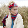 knit knitted wear head band bow
