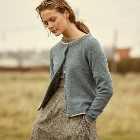 Irish Wool Cashmere Cardigan