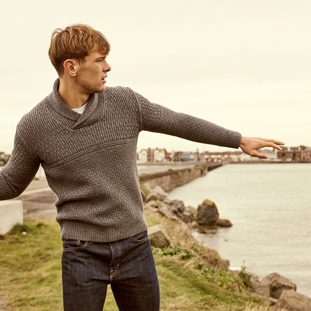 Handmade Irish Merino Wool Unique Sweater
