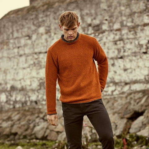 Handmade Irish Wool Cashmere Sweater