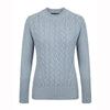 'Kilcrea' Cable Round Neck Sweater