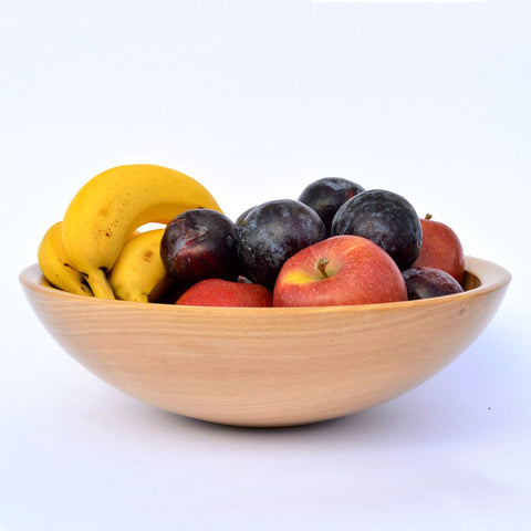 Large Beech Fruit / Salad Bowl