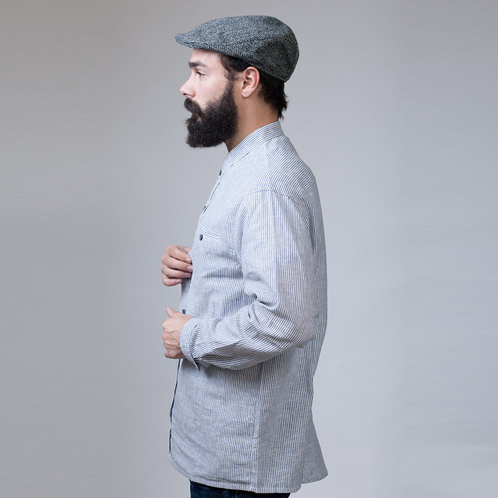 Linen Grandfather shirt
