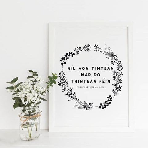 """There's No Place Like Home"" Wall Art"