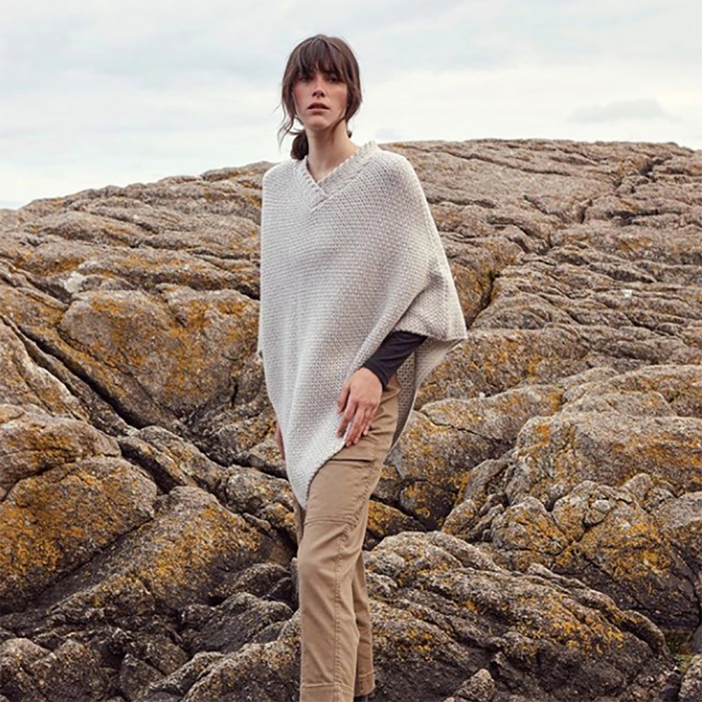 Irish Made Wool Poncho Canada