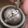 Claddagh Ring with Birth Stone