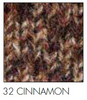 Cinnamon Irish wool