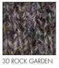 Rock Garden Irish wool