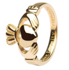 traditional Irish claddagh ring 14k gold