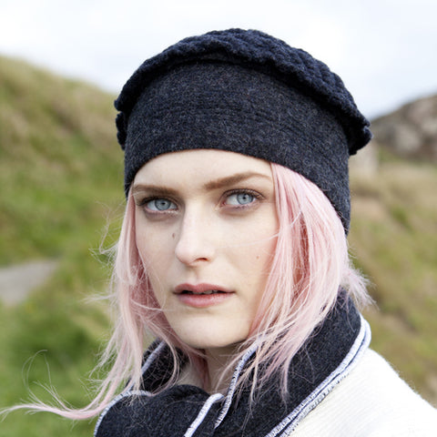 Textured Wool Hat