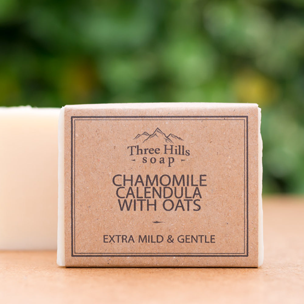 Irish Made Natural Chamomile Calendula Scent Soap