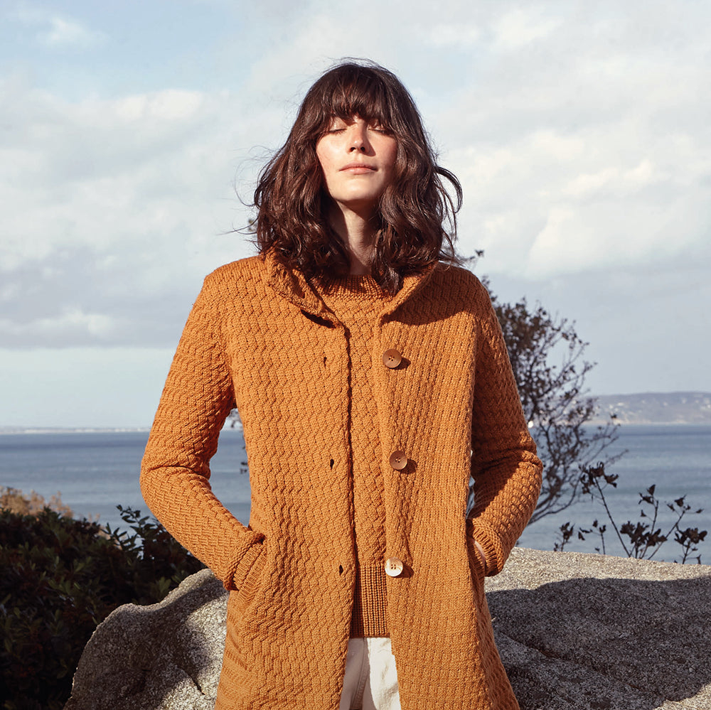 Irish Made Design Wool Cardigan Toronto