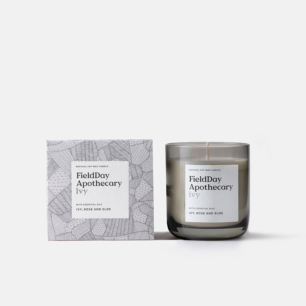Irish Made Field Apothecary Ivy Candle