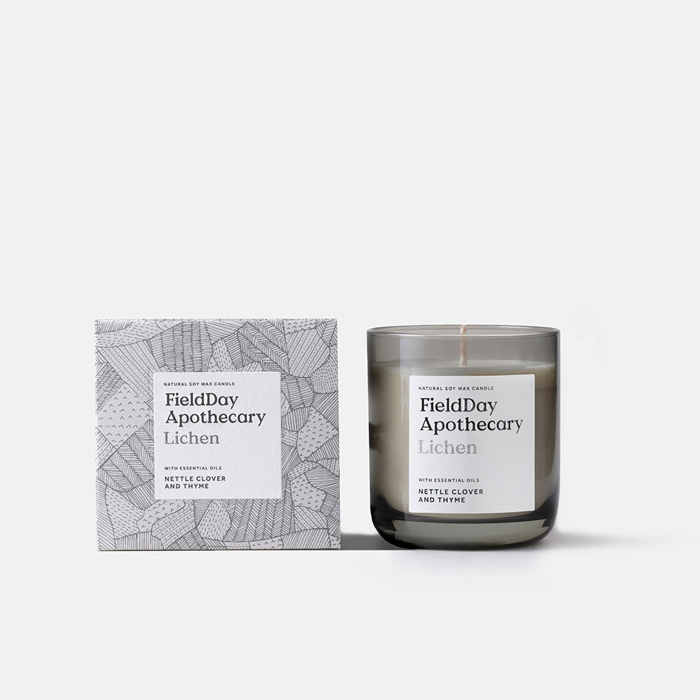 Irish Made Field Apothecary Lichen Candle