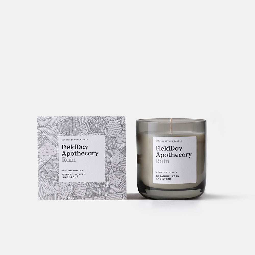 Irish Made Field Apothecary Rain Candle