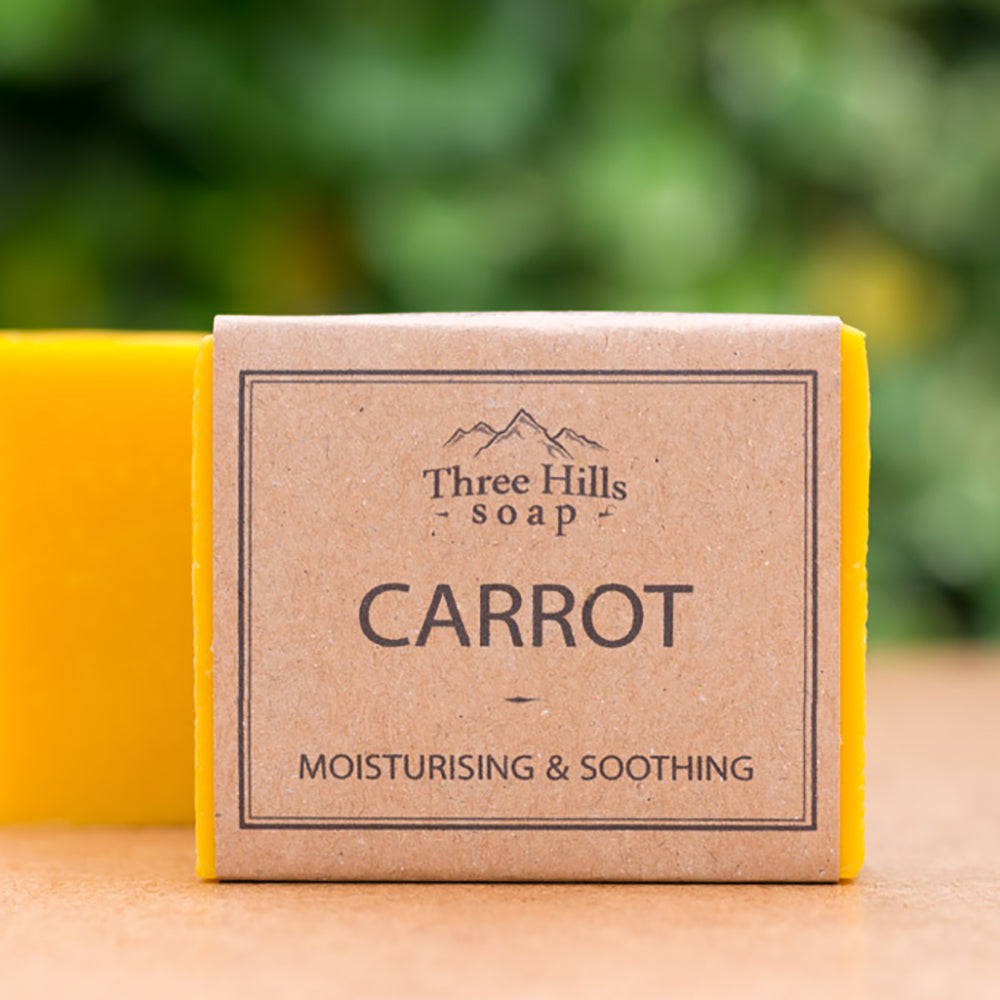 Irish Made Natural Carrot Scent Soap