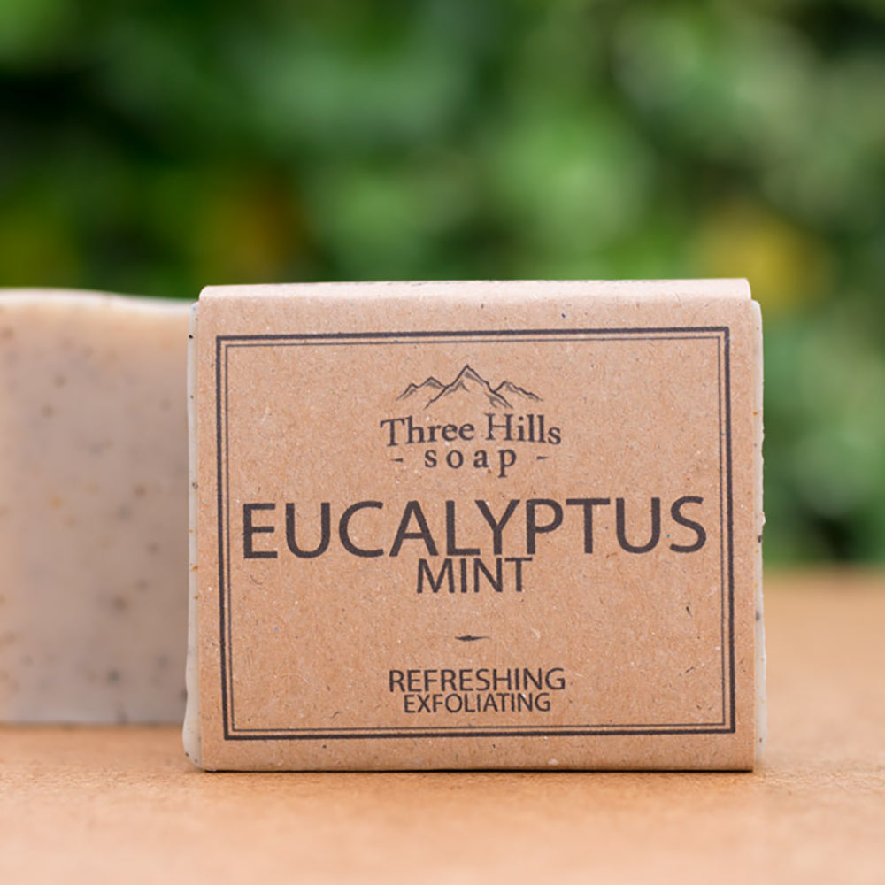 Irish Made Natural Eucalyptus Mint Scent Soap
