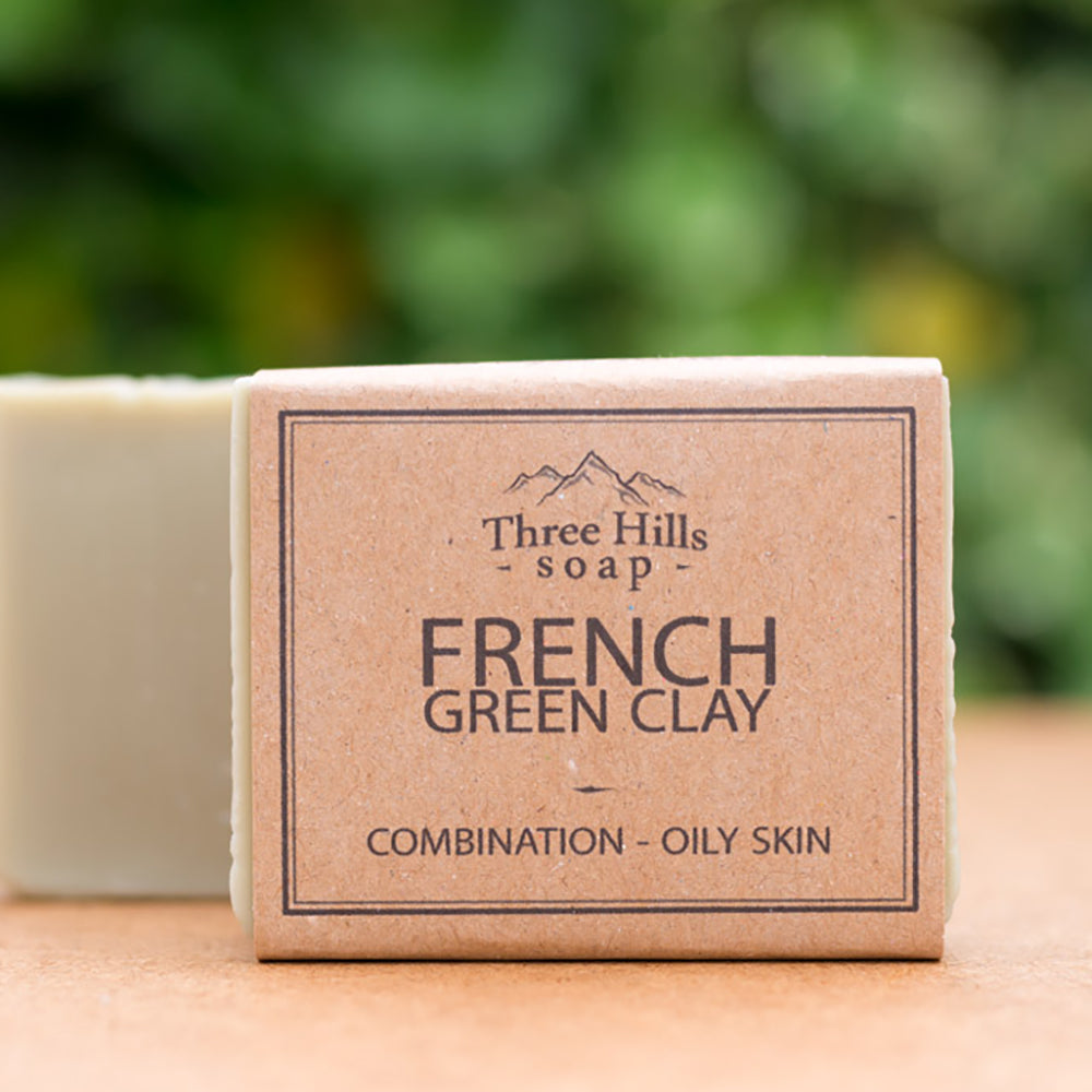 Irish Made Natural French Green Clay Scent Soap