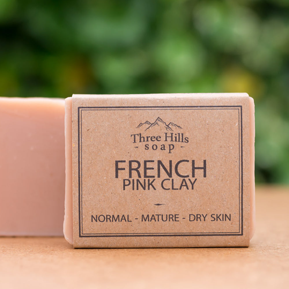 Irish Made Natural French Pink Clay Scent Soap