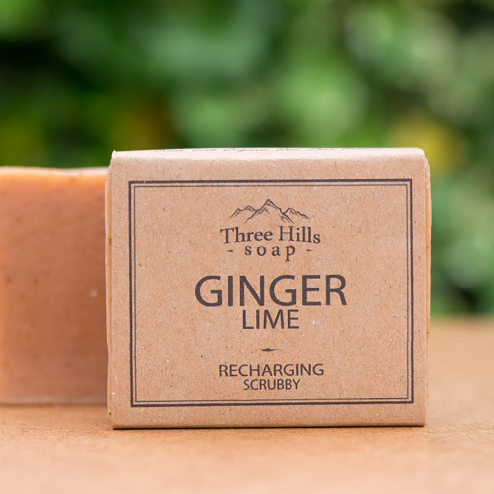 Irish Made Natural Ginger Lime Scent Soap