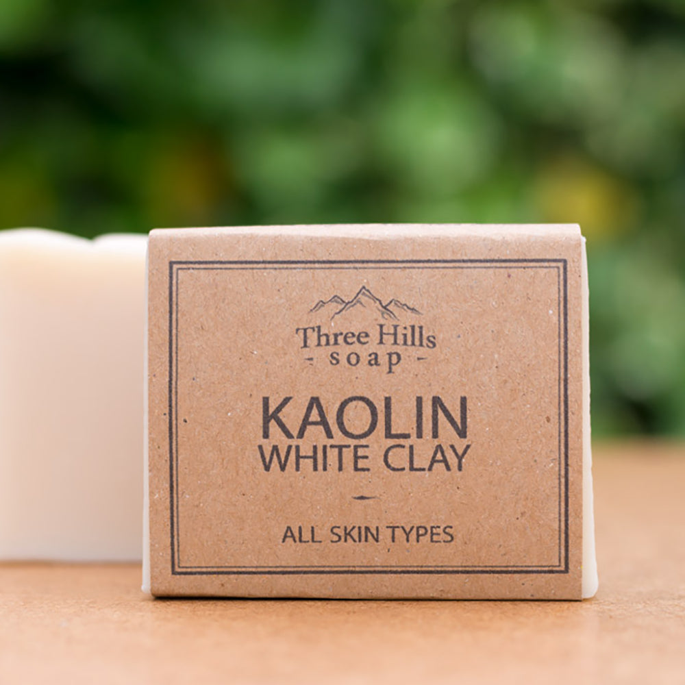 Irish Made Natural Kaolin White Clay Scent Soap