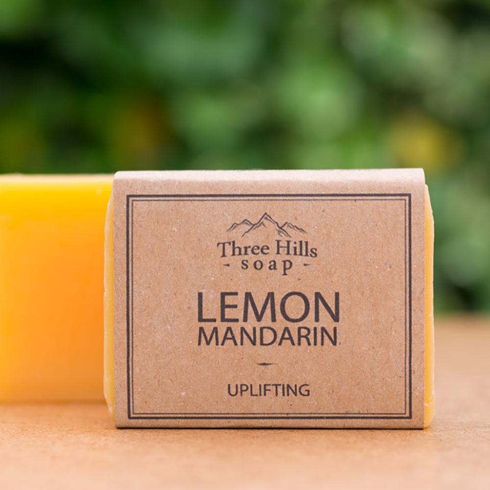 Irish Made Natural Lemon Mandarin Scent Soap