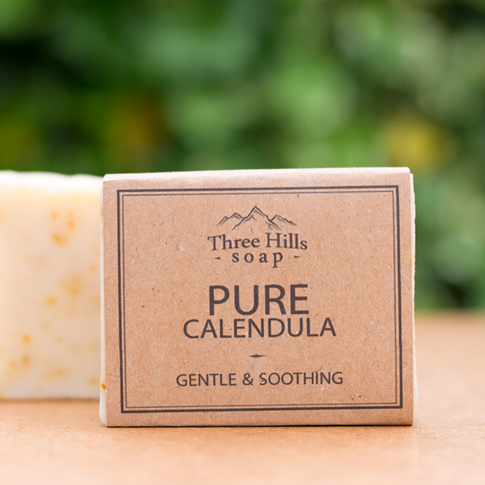 Irish Made Natural Pure Calendula Scent Soap