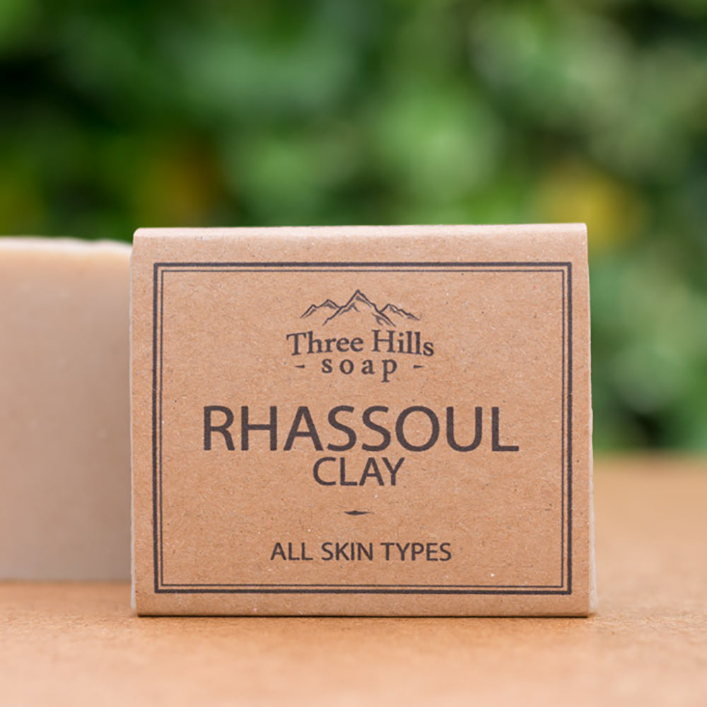 Irish Made Natural Rhassoul Clay Scent Soap