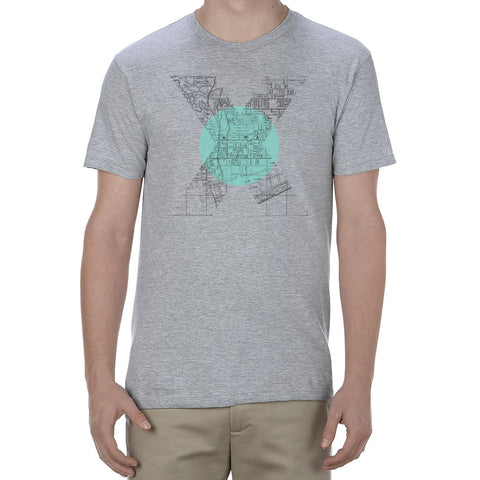 """X Marks The Spot"" - Men's Toronto T-Shirt"