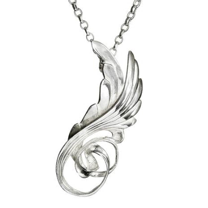 Celtic Knot Swan Wings
