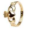 Men's Irish Claddagh Ring - Gold