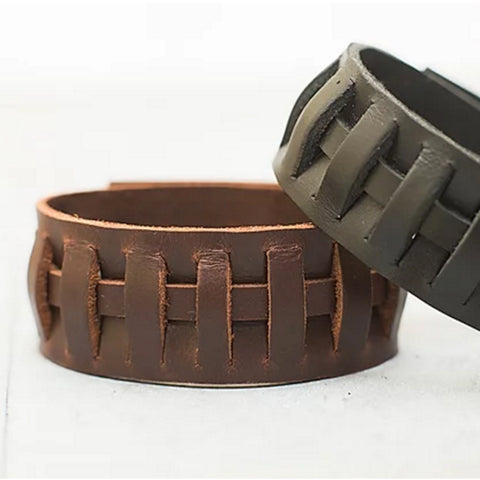 Handmade Irish Leather Jewellery Canada