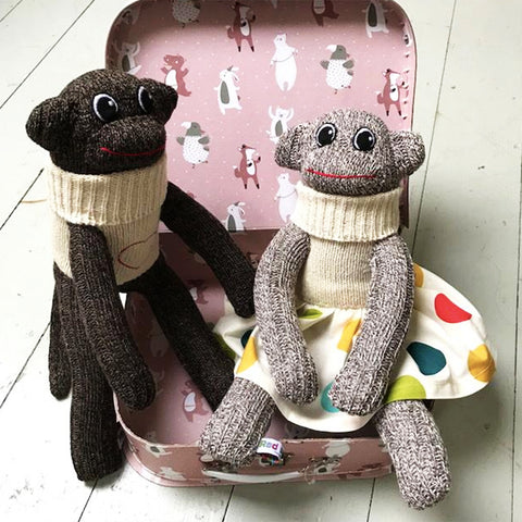 "Sock Monkey - ""Nelson"" and ""Sybil"""