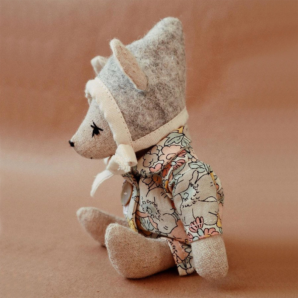 Irish Linen Baby Mouse Doll