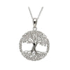 Irish Made Tree of Life Silver Necklace Toronto