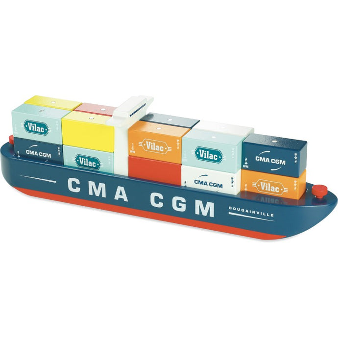 Containerschiff Magnetcontainer
