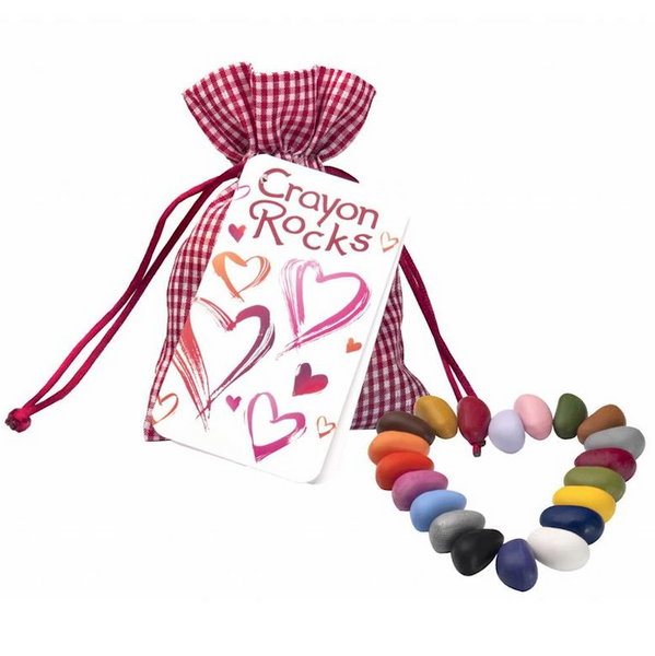 Crayon Rocks®  Heart colors - 20 pieces