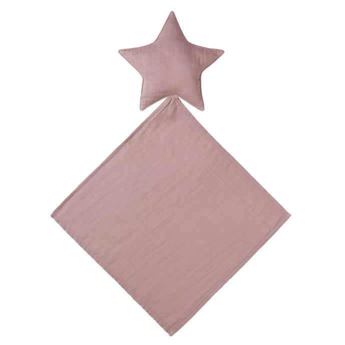 Lovey Star Doudou Dusty Pink