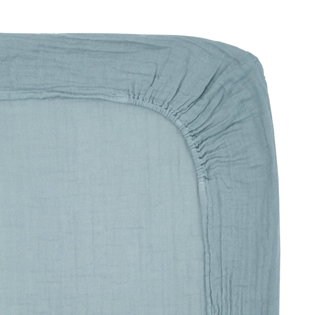 Fitted sheet elastic, cotton double saloo 70X140cm