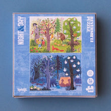 "Londji Pocket Puzzle 100 Teile ""Night and Day"""