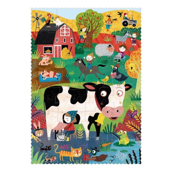 Londji Pocket Puzzle 24+16 Teile My little Farm